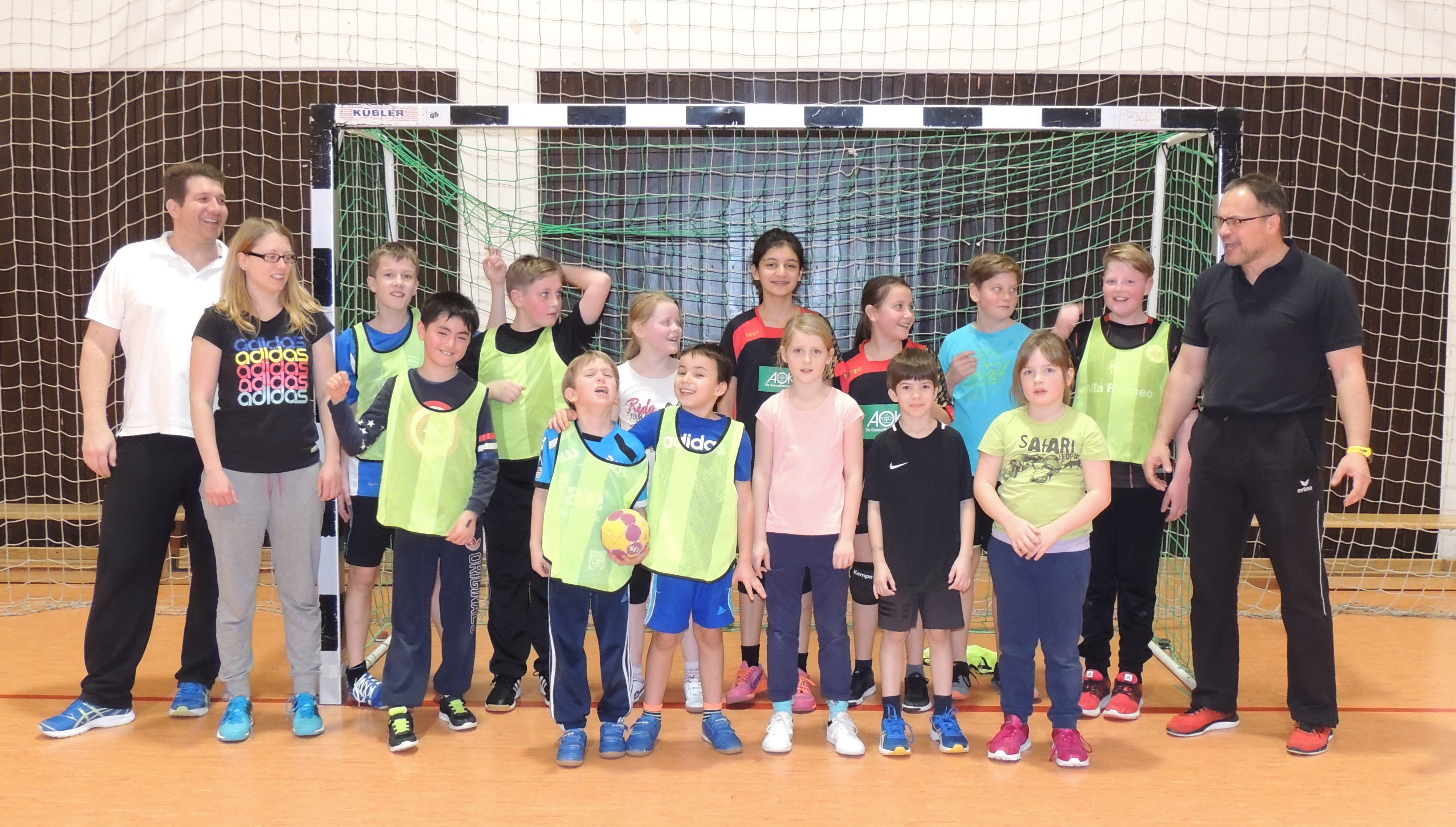 Handball Schnuppertraining bei der HSG Eschhofen/Steeden