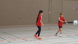Zweierprellball Schülerinnen – Schüler – Minis