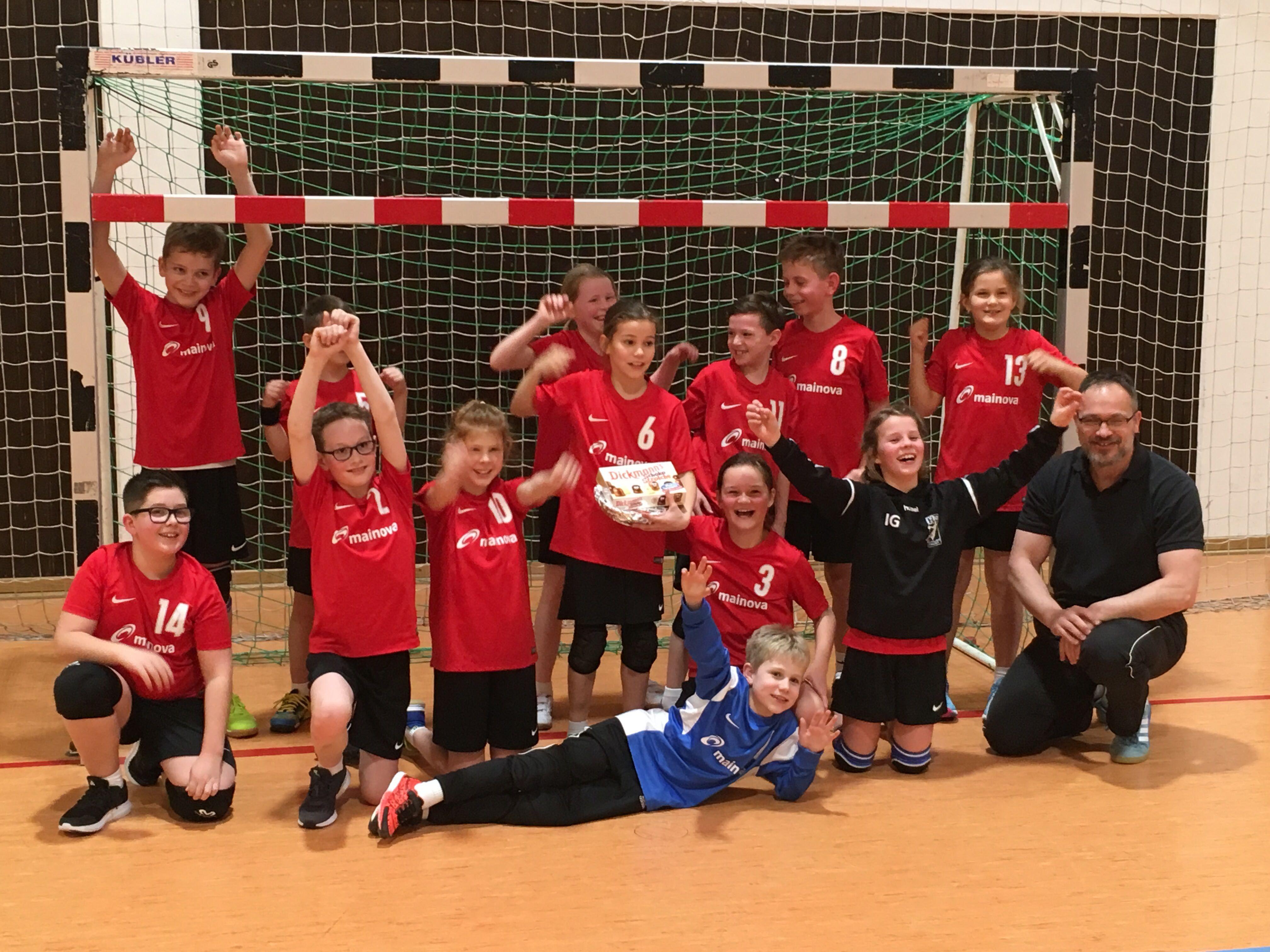 HSG Eschhofen/Steeden E-Jugend Staffelsieger