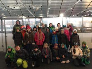 Jahresabschluss in der Eissporthalle