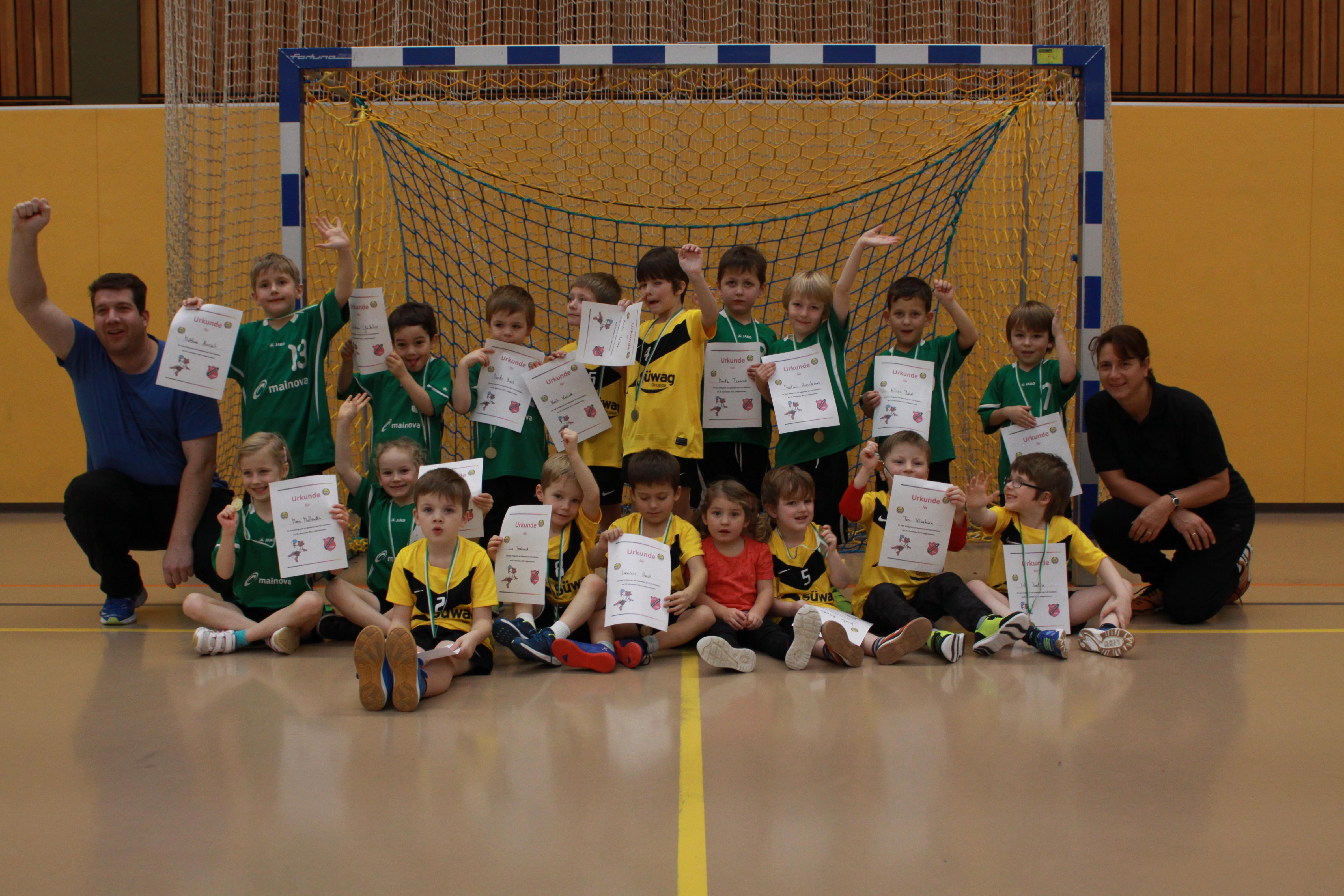 Handball Mini Spielfest