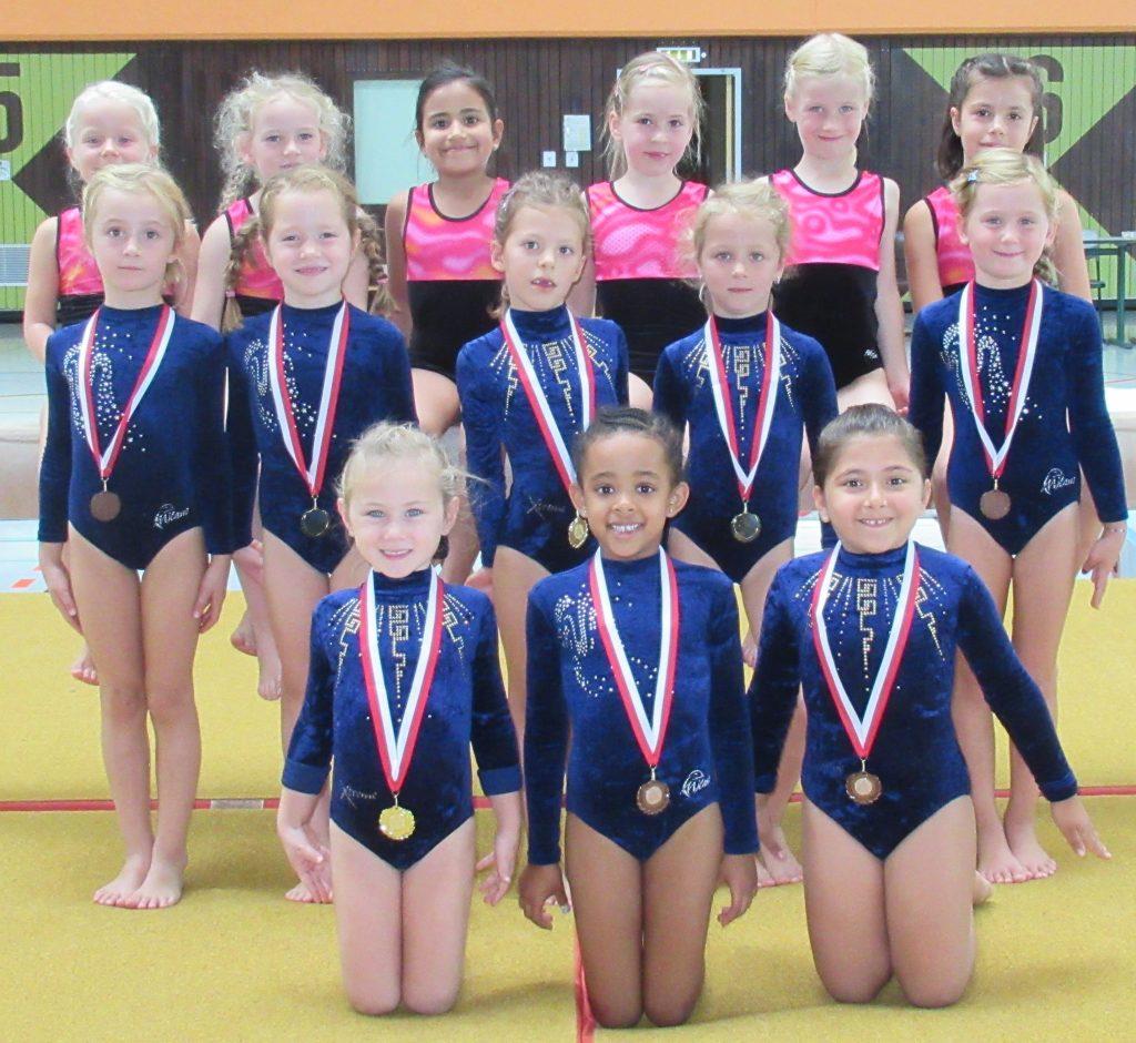 Gold und Bronze für Eschhöfer Nachwuchsturnerinnen