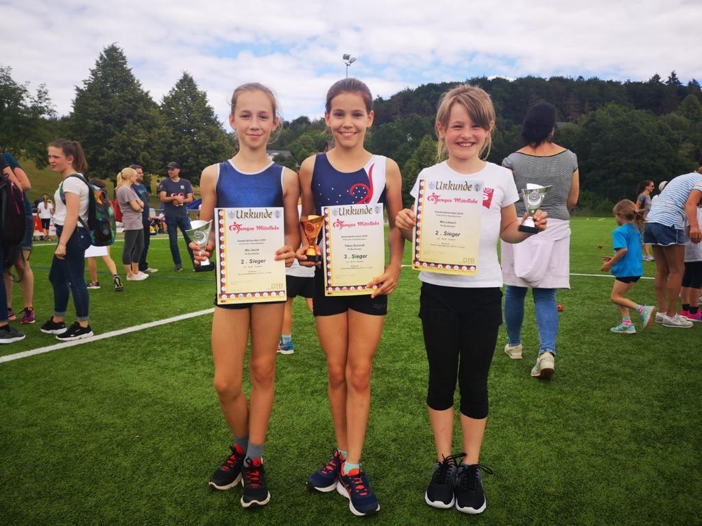 Gaukinderturnfest: Staffel der Turnerinnen gewinnt Gold