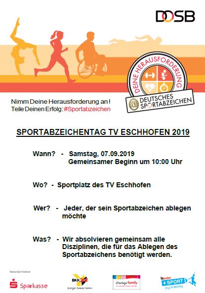 Sportabzeichentag TVE